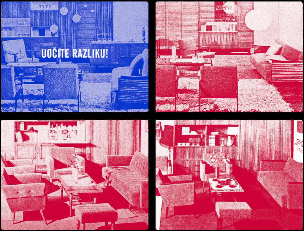 Svi jugoslavenski domovi izgledali su isto.