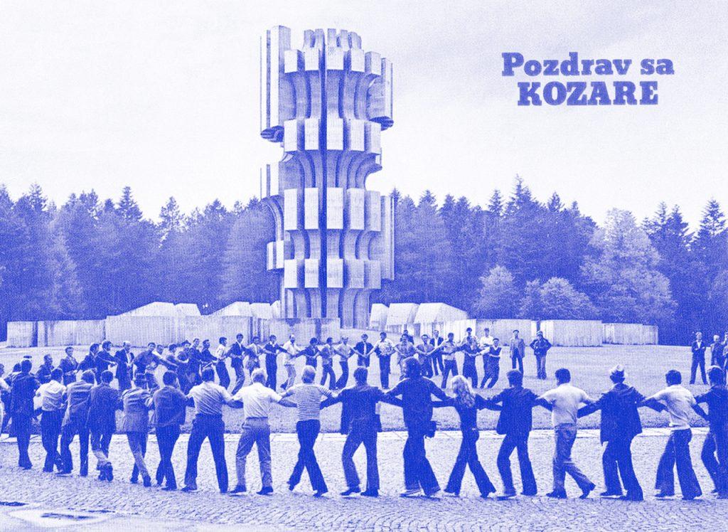 Dušan Džamonja: spomenik na Kozari, 1972.
